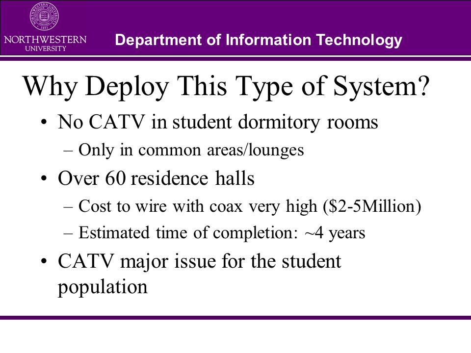 Department of Information Technology Northwestern Network