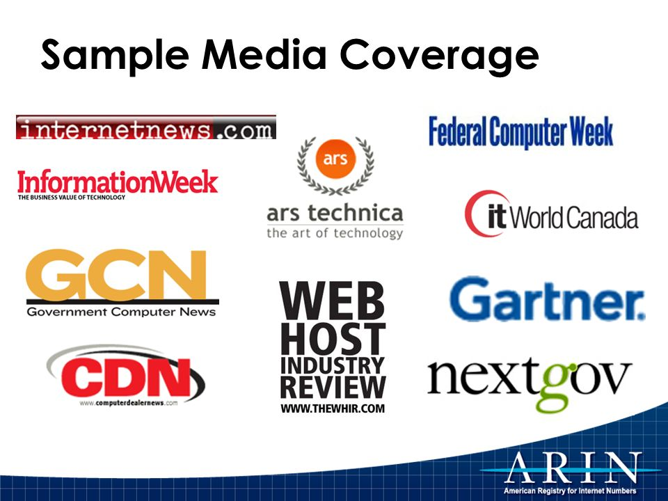 Sample Media Coverage