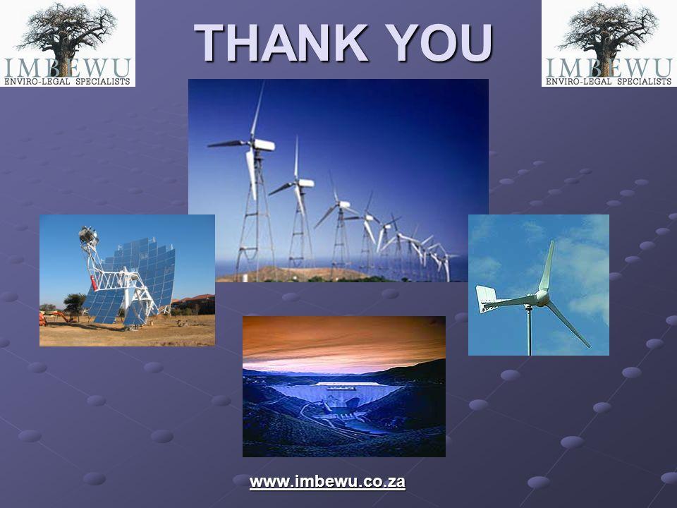 THANK YOU www.imbewu.co.za