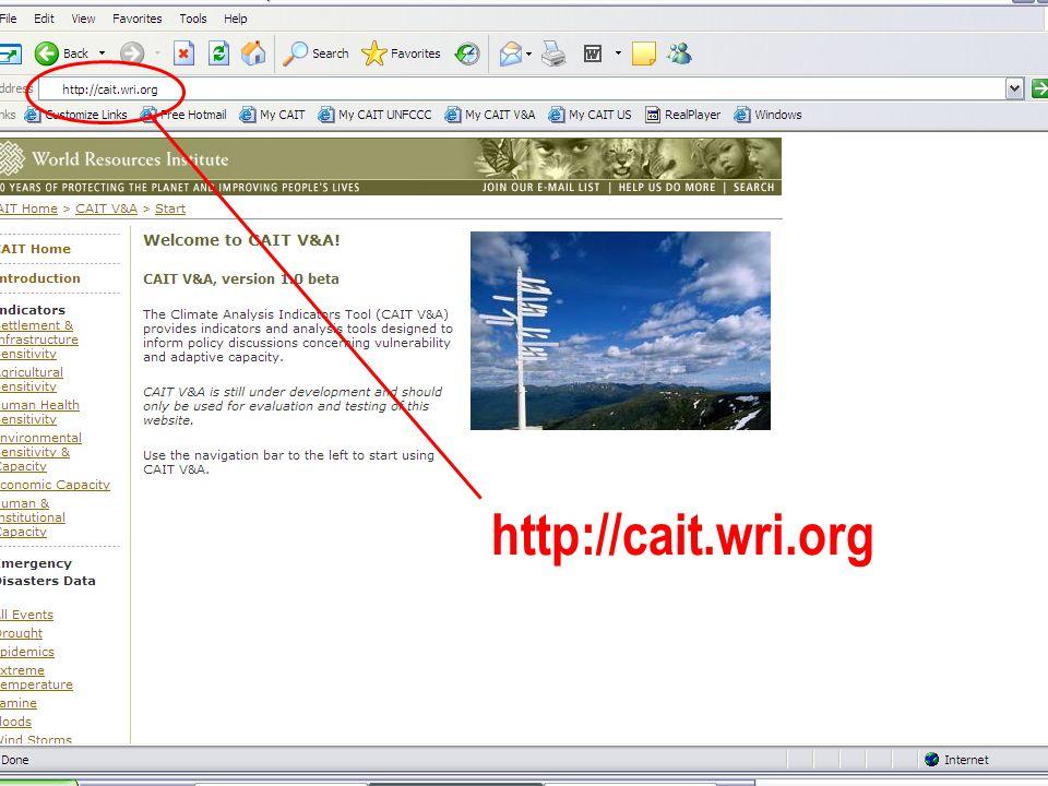 WRI http://cait.wri.org