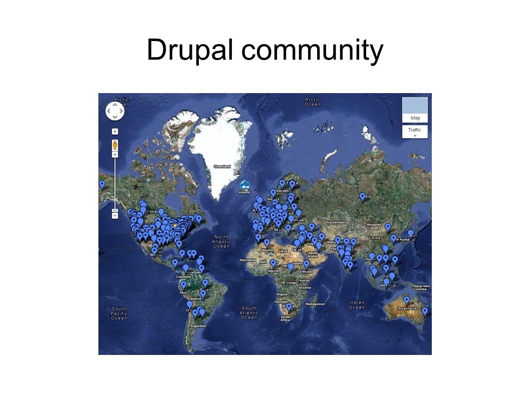 Drupal community