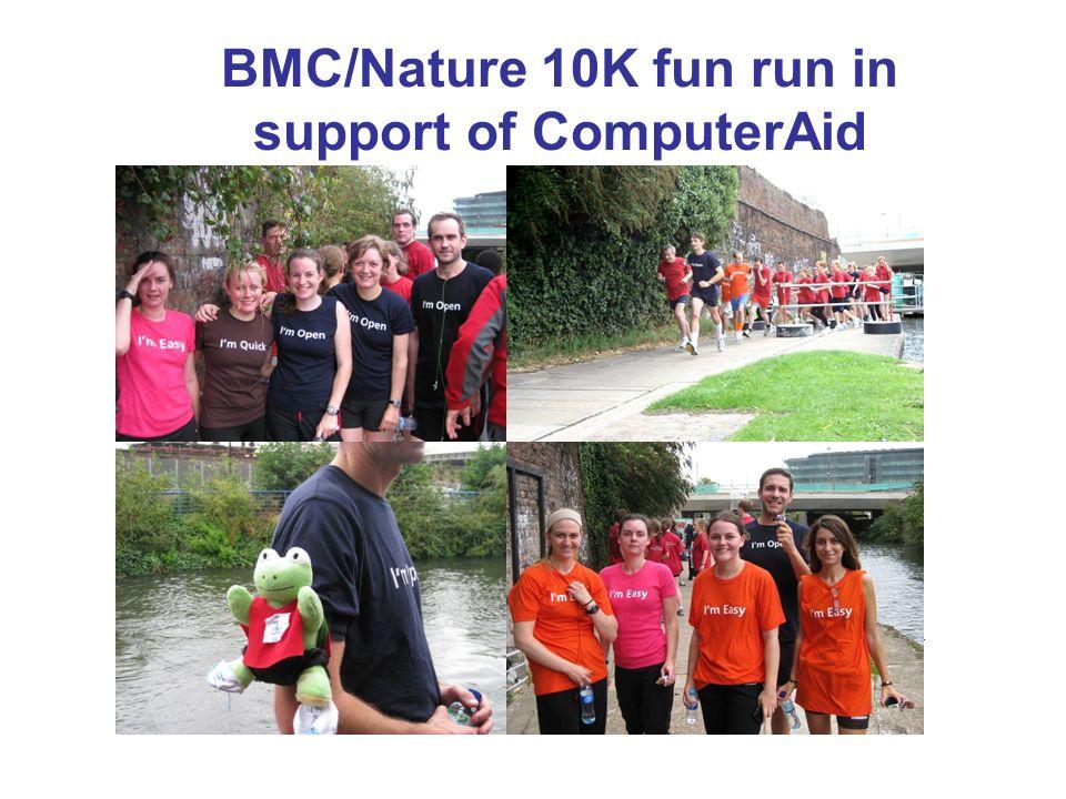 BMC/Nature 10K fun run in support of ComputerAid