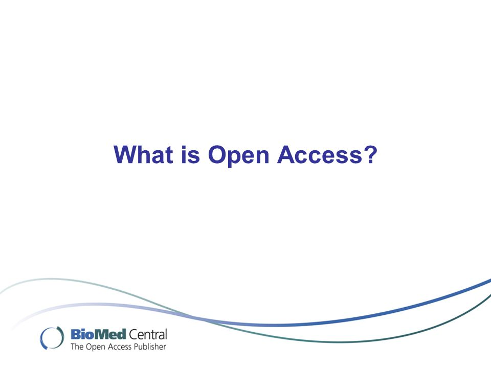 Harvard University (and other members of Compact for Open Access Publishing Equity) More than 100 mandatory institution- wide open access policies world-wide http://www.eprints.org/openaccess/policysignup/ http://www.eprints.org/openaccess/policysignup/ But still very few in Africa… Many universities are now requiring open access