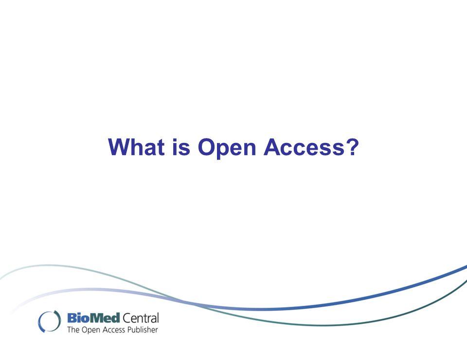Malaria Journal - an open access journal case study