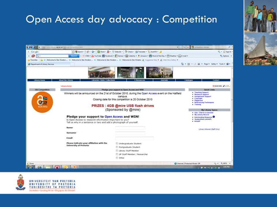 Open Access day advocacy : Competition
