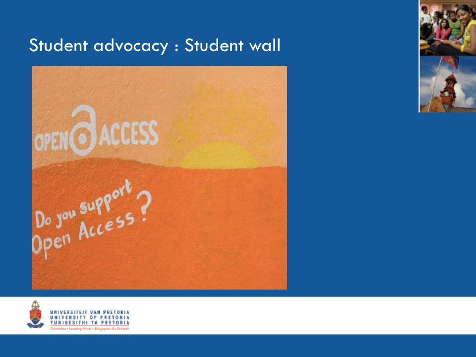 Student advocacy : Student wall