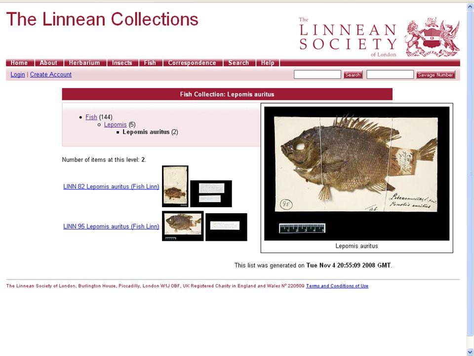Collections Repository: The Linean Society