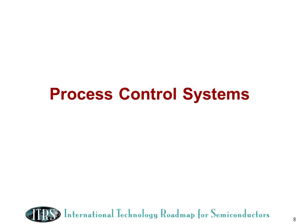 8 Process Control Systems