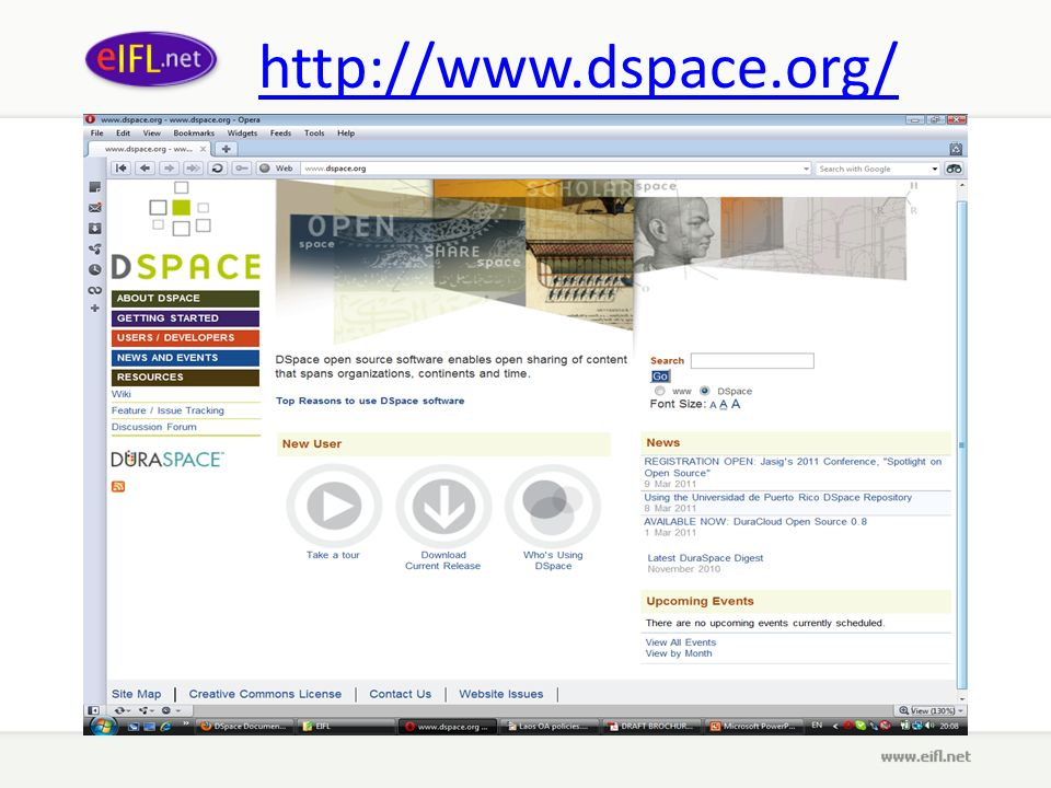 http://www.dspace.org/