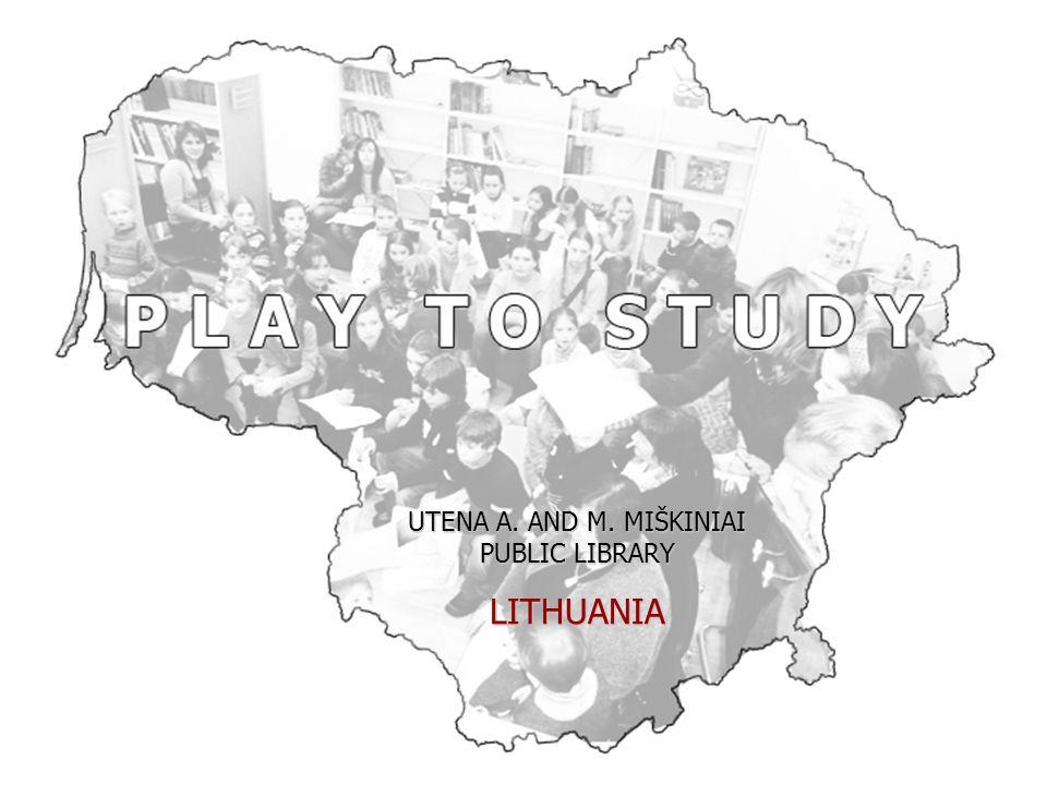 UTENA A. AND M. MIŠKINIAI PUBLIC LIBRARY LITHUANIA