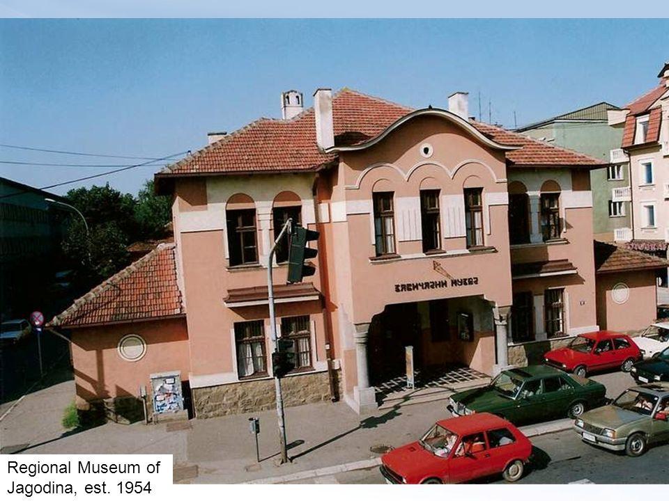 Regional Museum of Jagodina, est. 1954