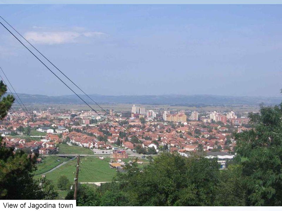 View of Jagodina town