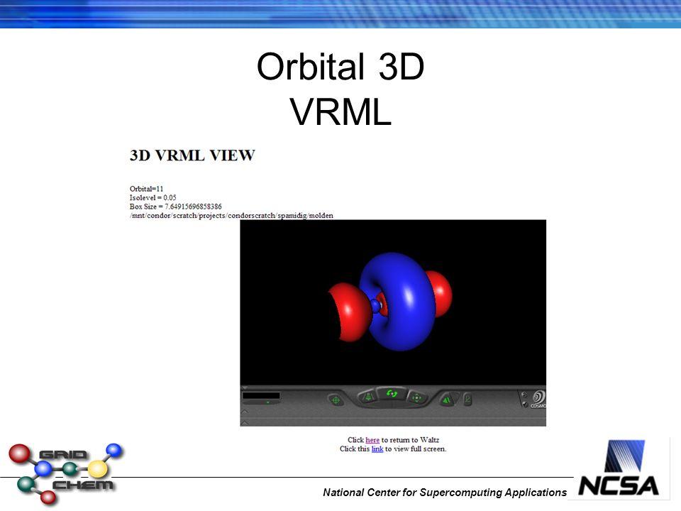 National Center for Supercomputing Applications Orbital 3D VRML