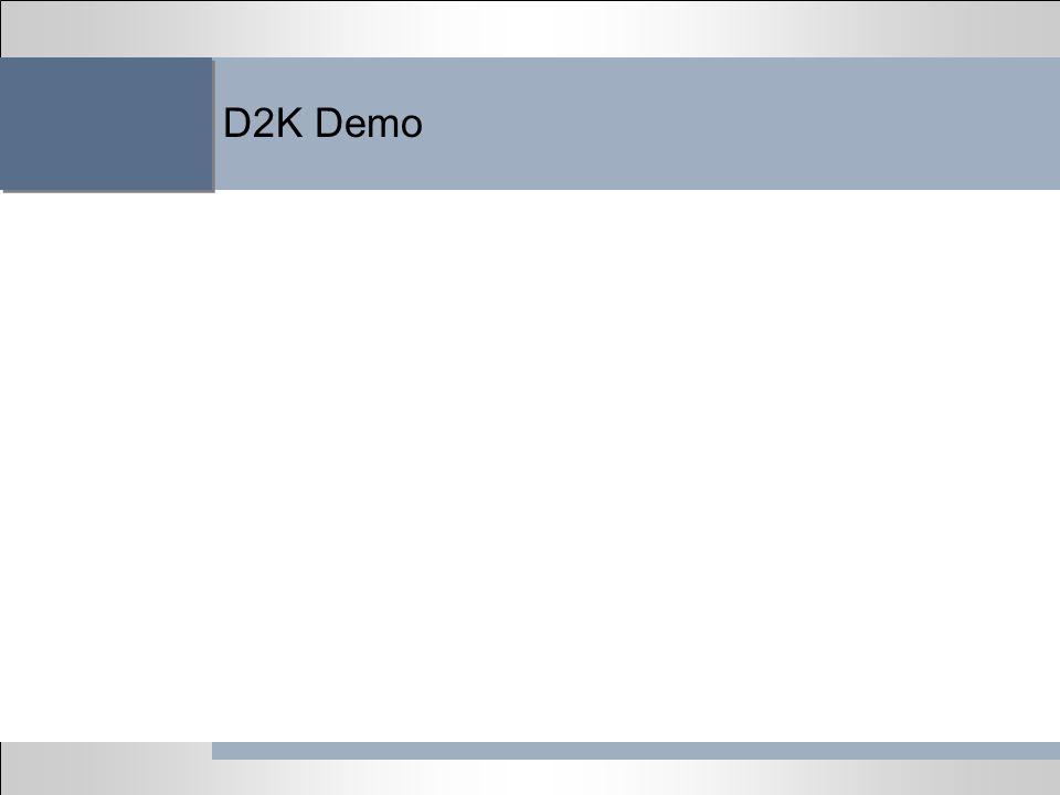D2K Demo