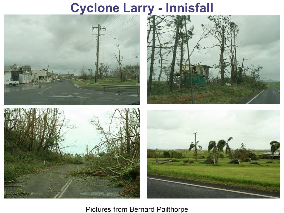 Cyclone Larry - Innisfall Pictures from Bernard Pailthorpe