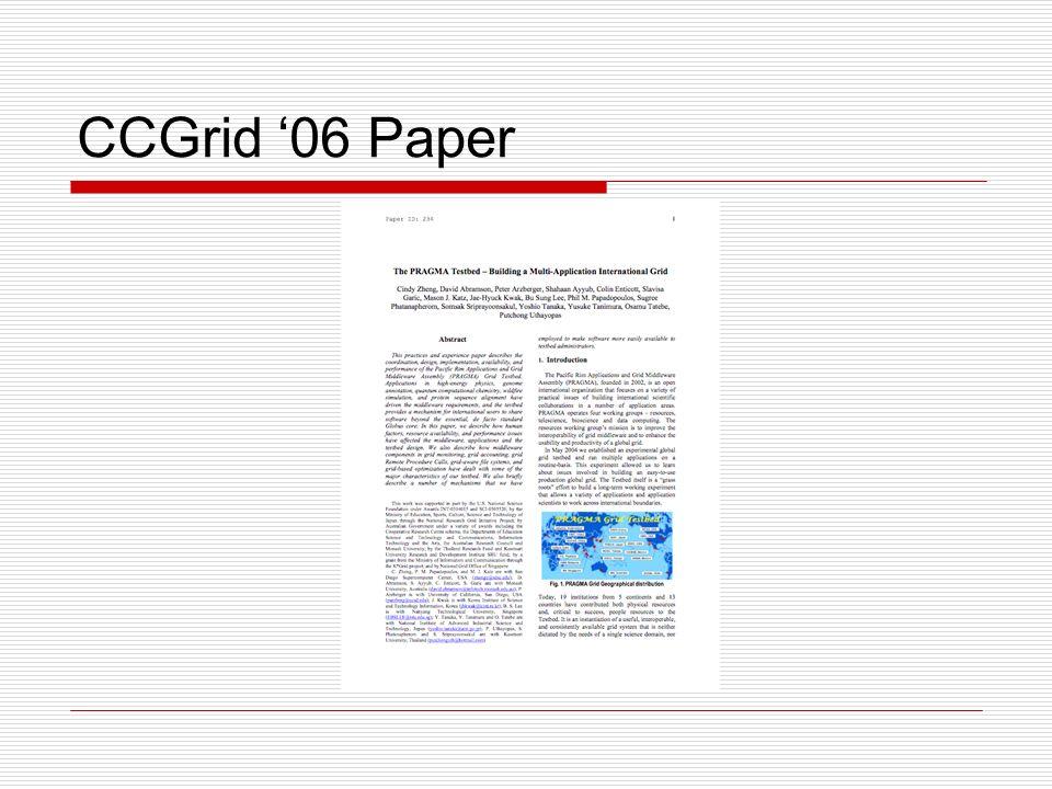 CCGrid 06 Paper