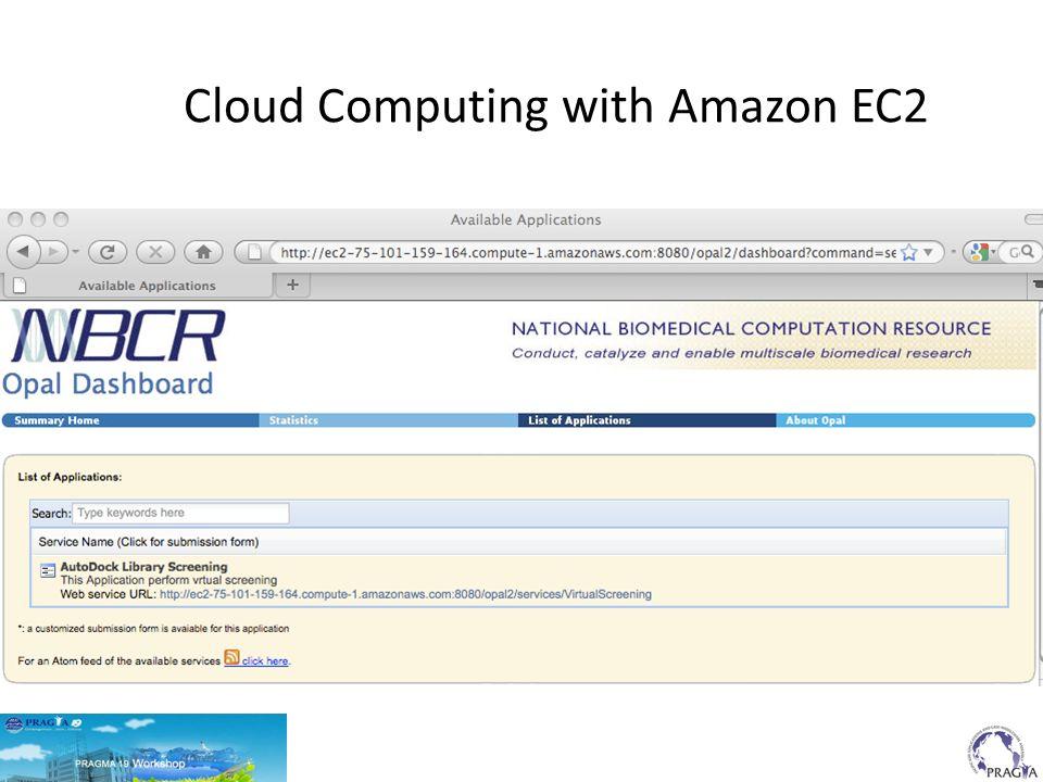 Cloud Computing with Amazon EC2