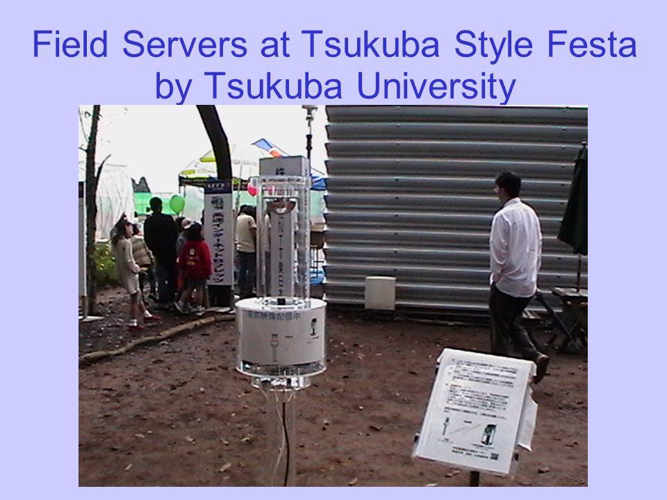 Field Servers at Tsukuba Style Festa by Tsukuba University