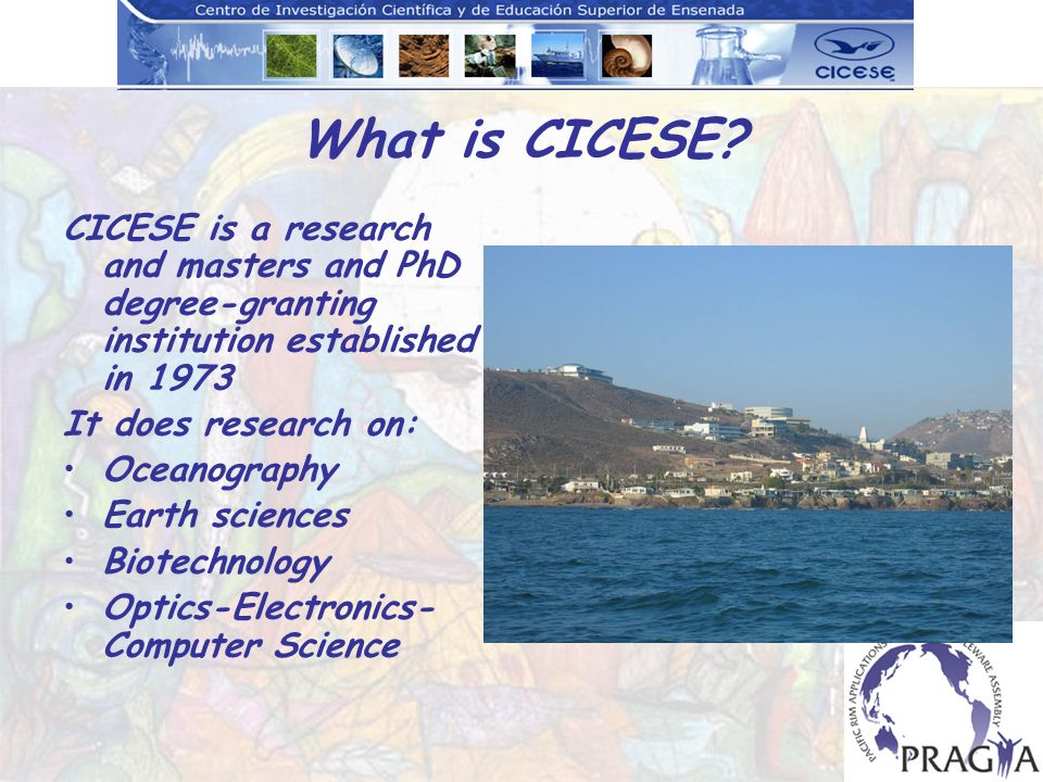 What is CICESE.