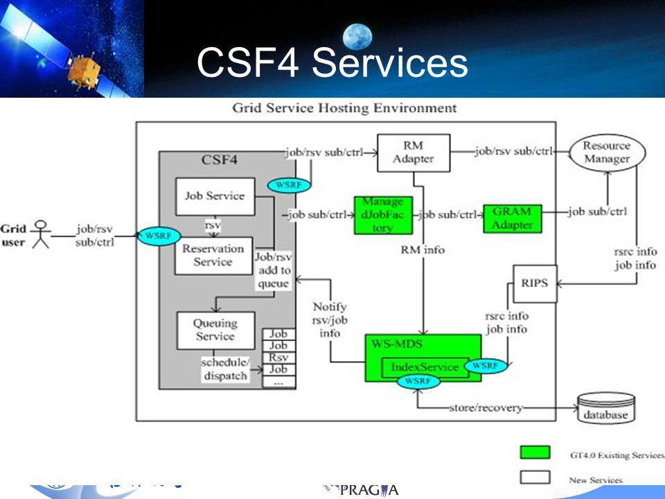 13 CSF4 Services