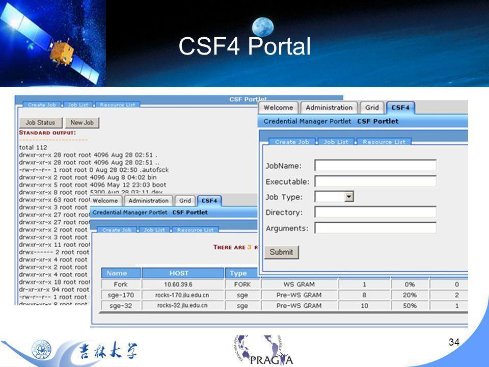 34 CSF4 Portal