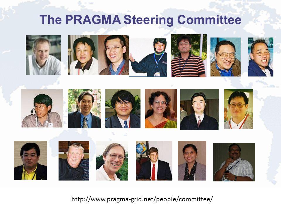 The PRAGMA Steering Committee http://www.pragma-grid.net/people/committee/