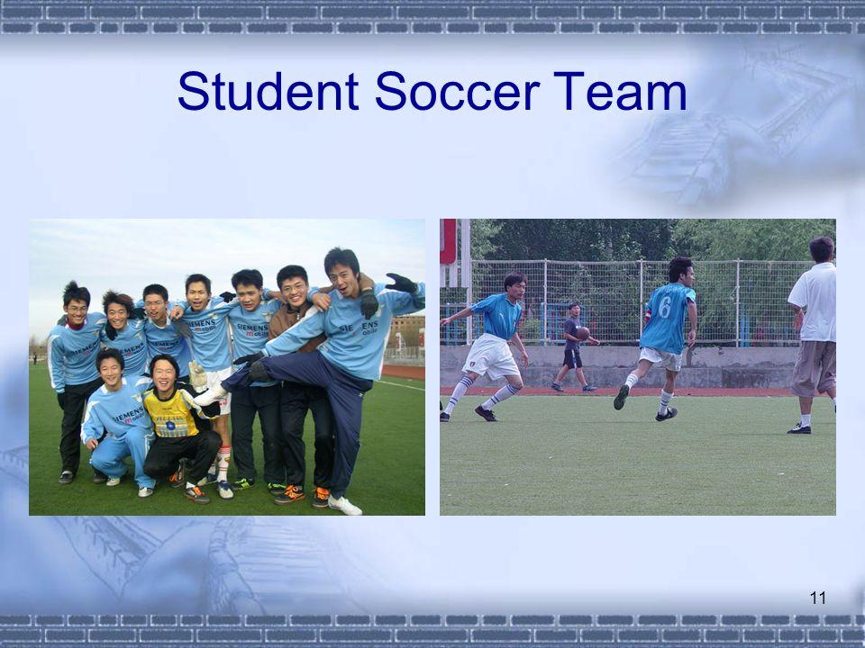 11 Student Soccer Team