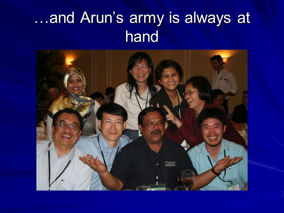 …and Aruns army is always at hand