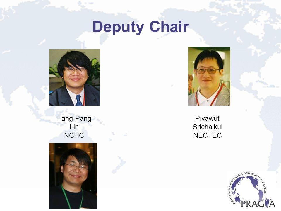 Deputy Chair Fang-Pang Lin NCHC Piyawut Srichaikul NECTEC