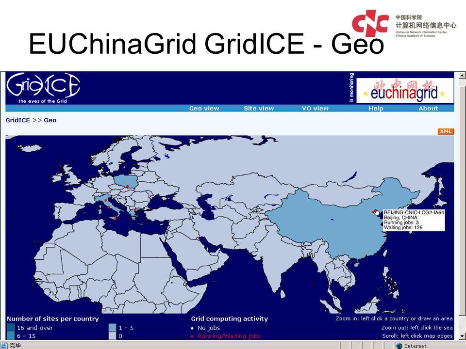 EUChinaGrid GridICE - Geo