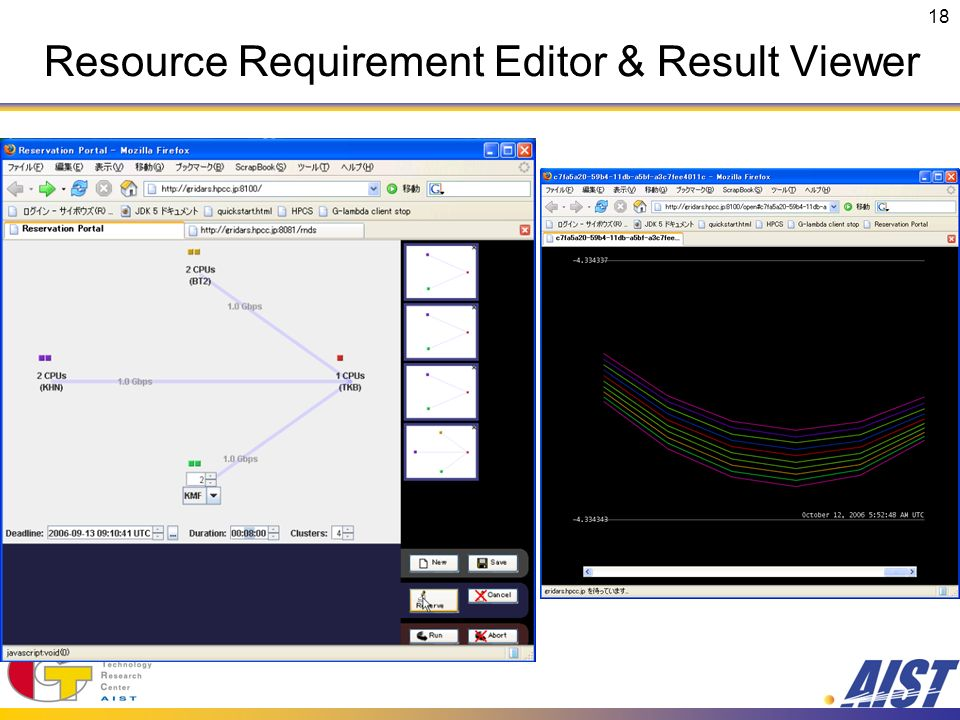 18 Resource Requirement Editor & Result Viewer