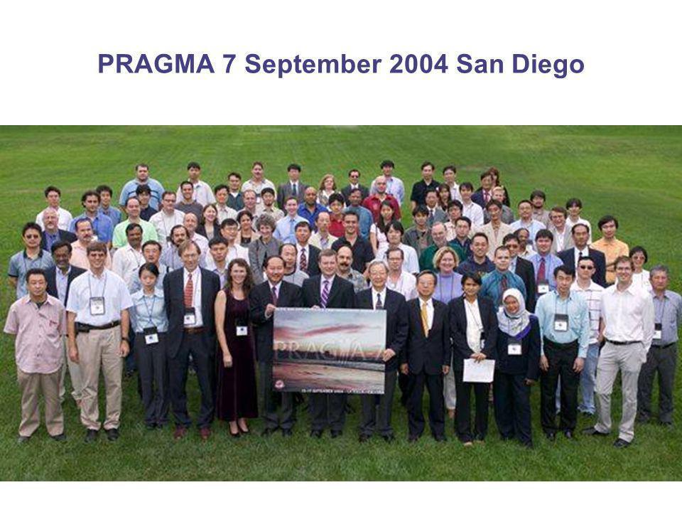PRAGMA at SC04