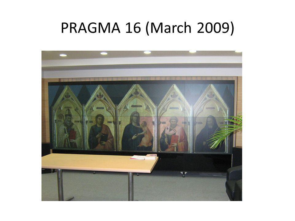 PRAGMA 16 (March 2009)