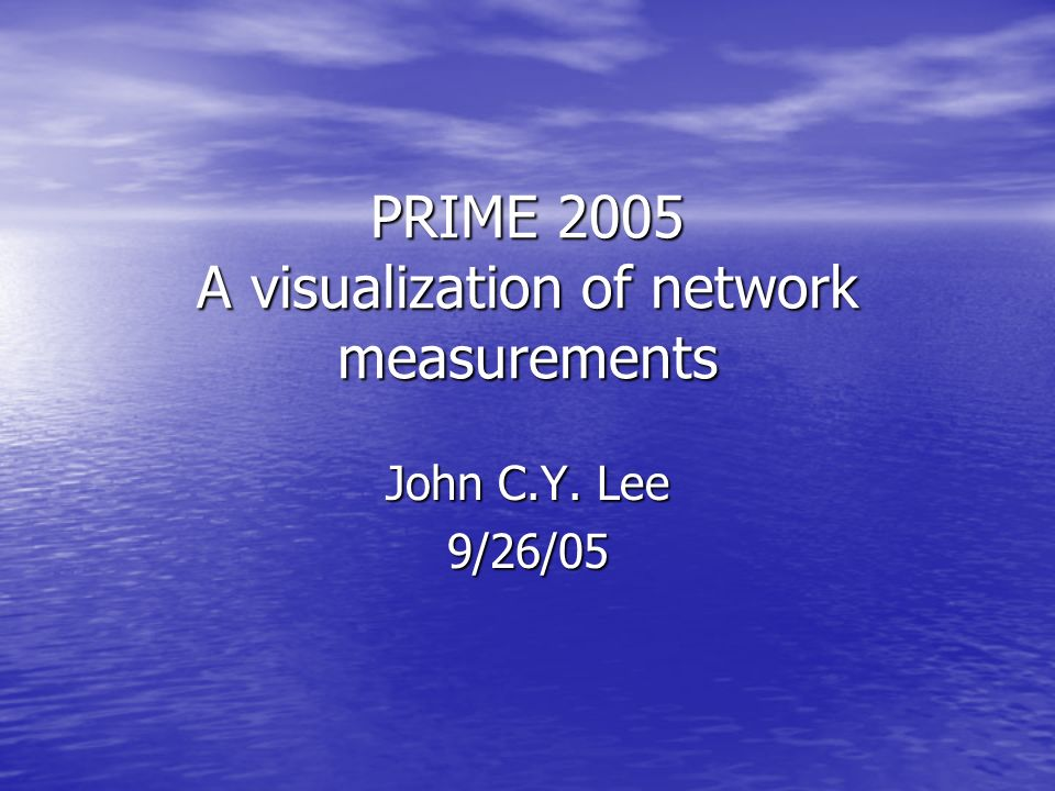 Content A Very Brief Introduction A Very Brief Introduction Thanks Thanks Life in Beijing Life in Beijing The end of Prime 2005 The end of Prime 2005 Structures Structures Future improvements Future improvements Demo Demo