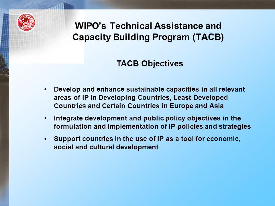 TACB & Enforcement Coordination Tech Assist.