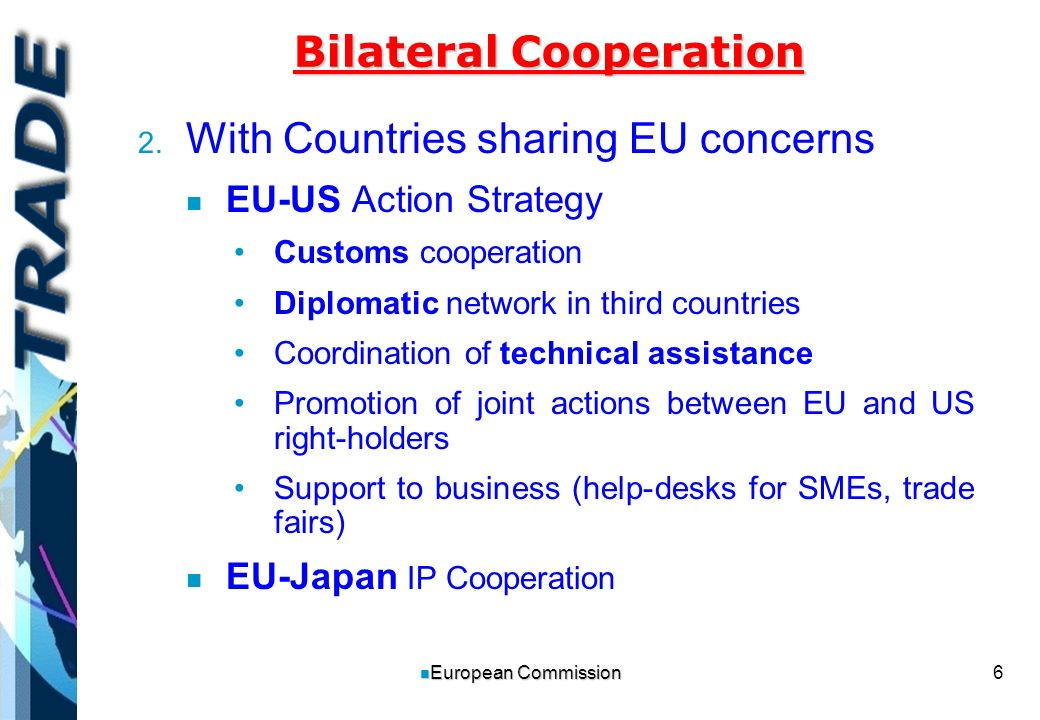 6 n European Commission Bilateral Cooperation