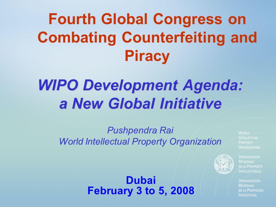 WIPO Development Agenda.. A major initiative taken by developing countries in 2004