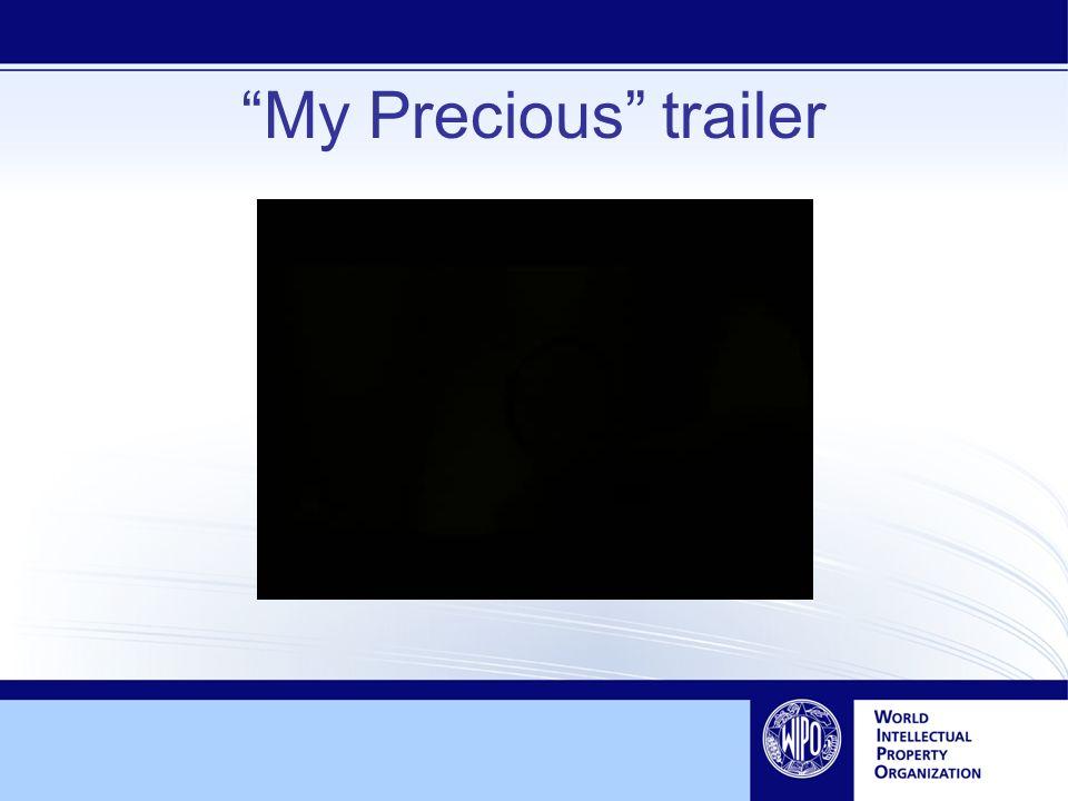My Precious trailer