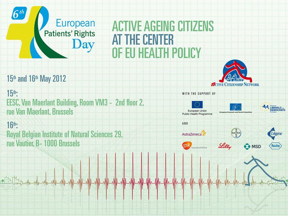 Elderly participation in European Health policy and Patients Rights Teresa Petrangolini ACN Director