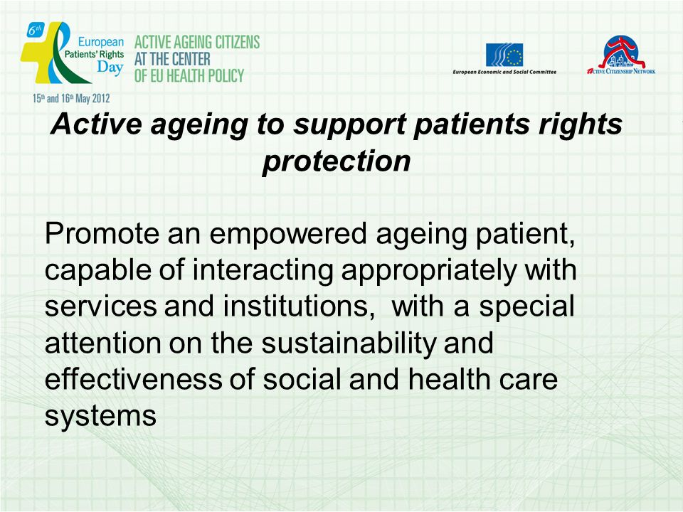 The active citizens rights linked the rights of civic association (art.