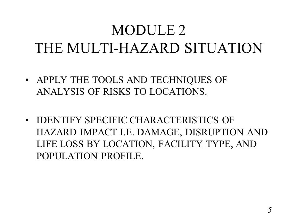 6 MODULE 3 MITIGATION PRACTICE IDENTIFY TECHNIQUES TO REDUCE THE RISK AND MINIMISE ENVIRONMENTAL DEGRADATION.