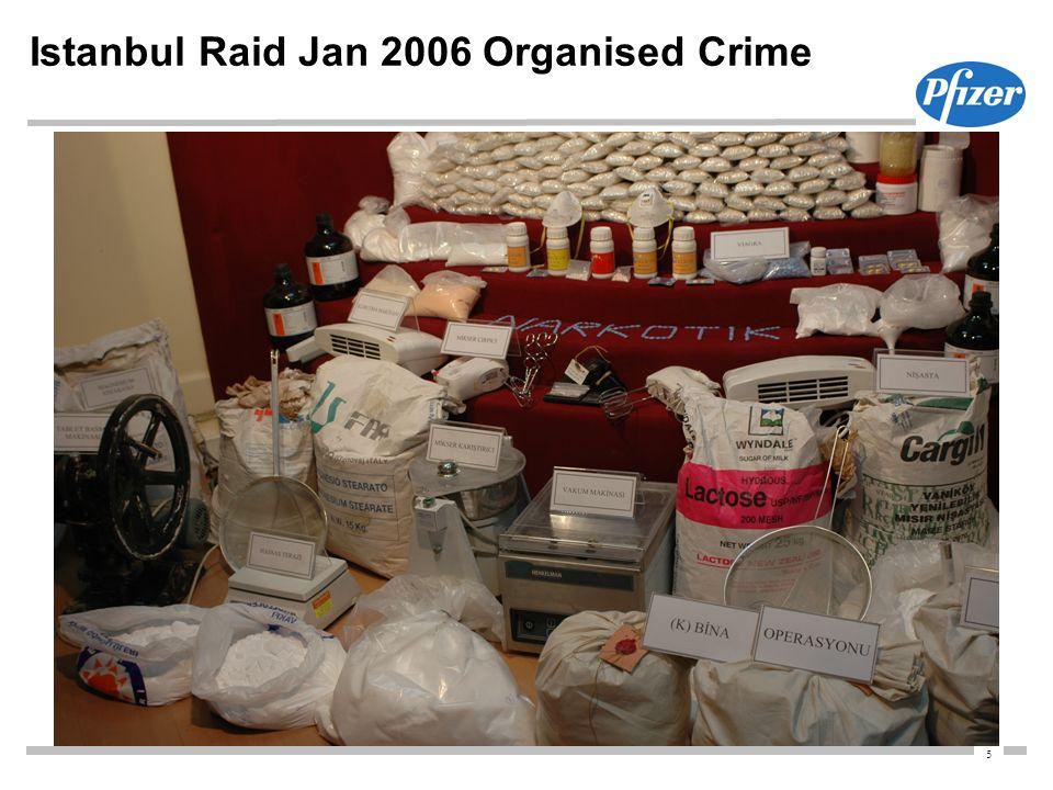 5 Istanbul Raid Jan 2006 Organised Crime