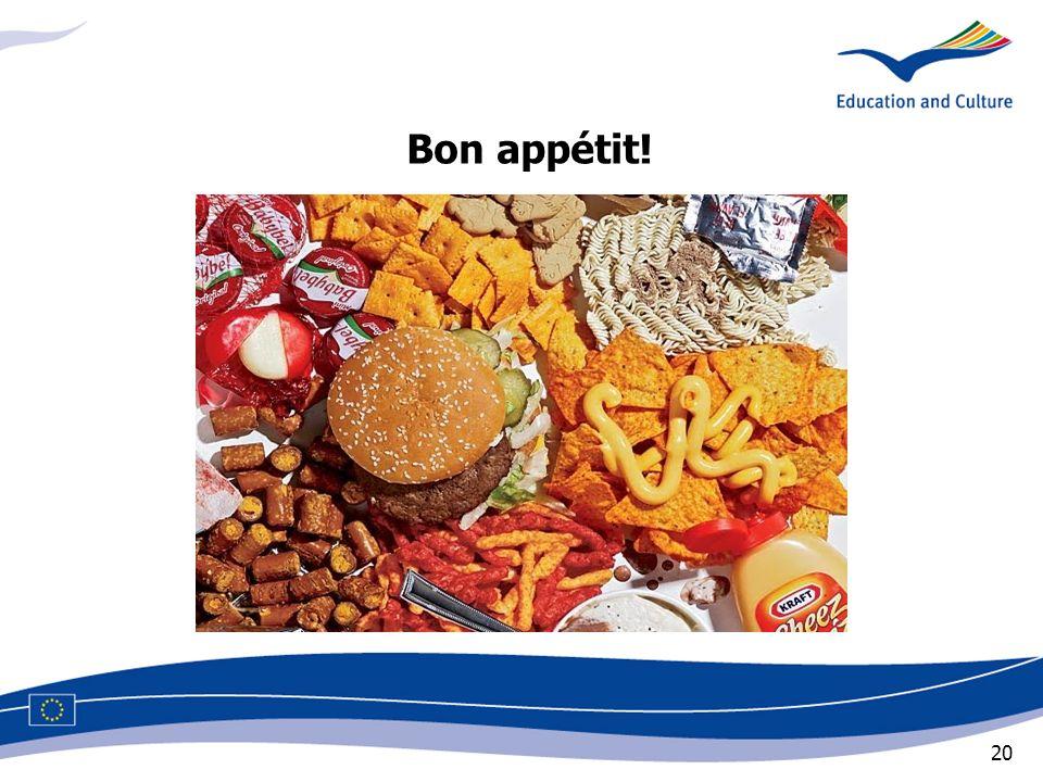 20 Bon appétit!
