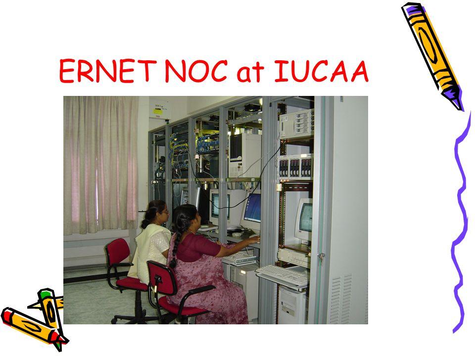ERNET NOC at IUCAA