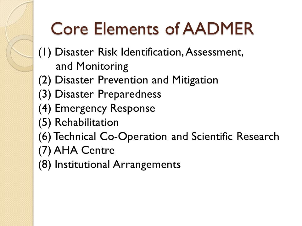 Challenges There are many actors in disaster management system in Thailand.
