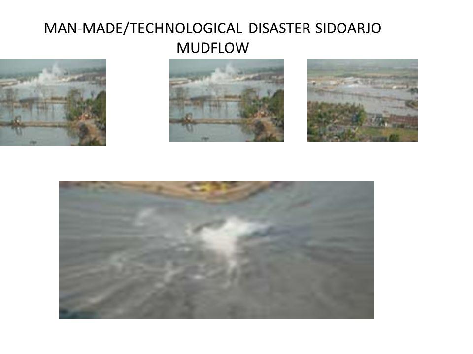 MAN-MADE/TECHNOLOGICAL DISASTER SIDOARJO MUDFLOW