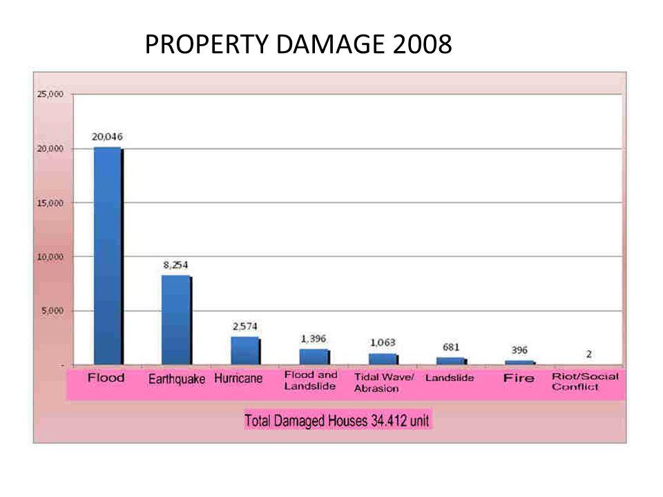 PROPERTY DAMAGE 2008