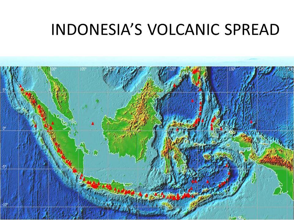INDONESIAS VOLCANIC SPREAD