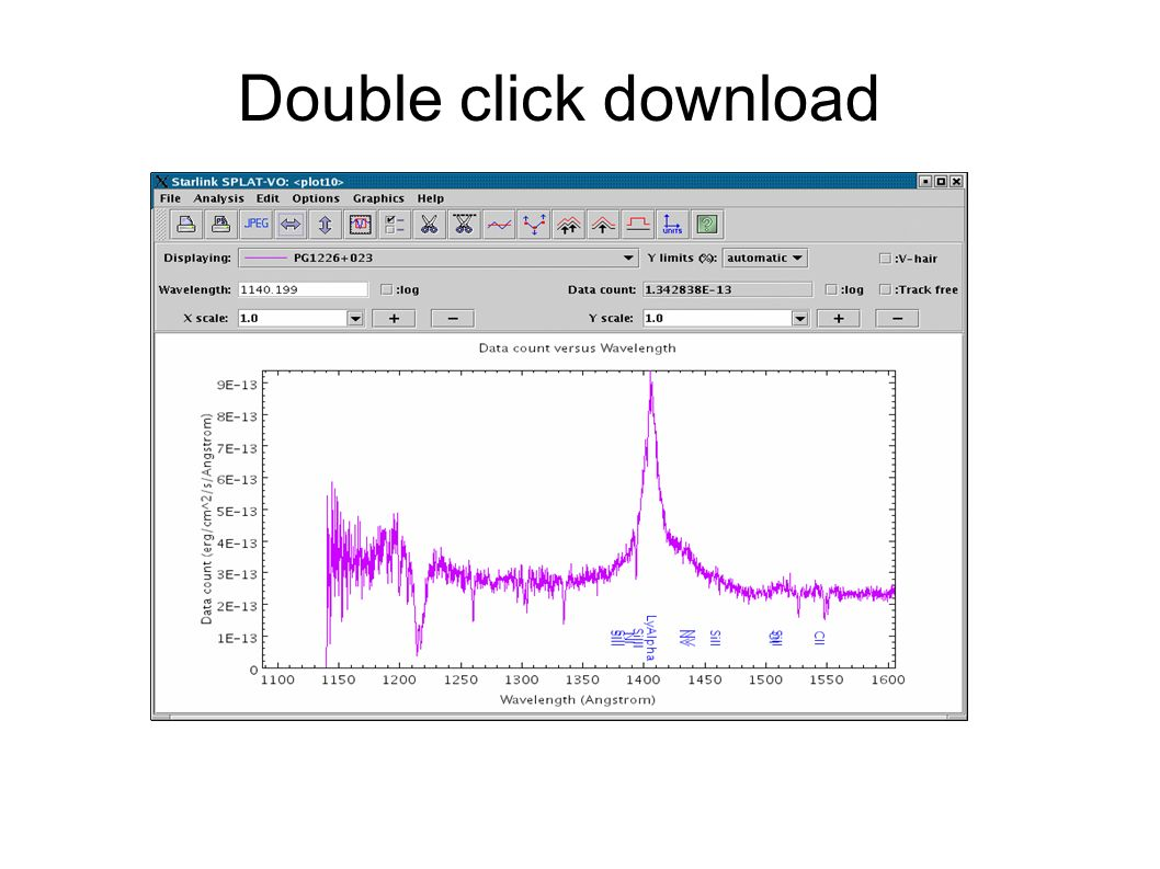 Double click download