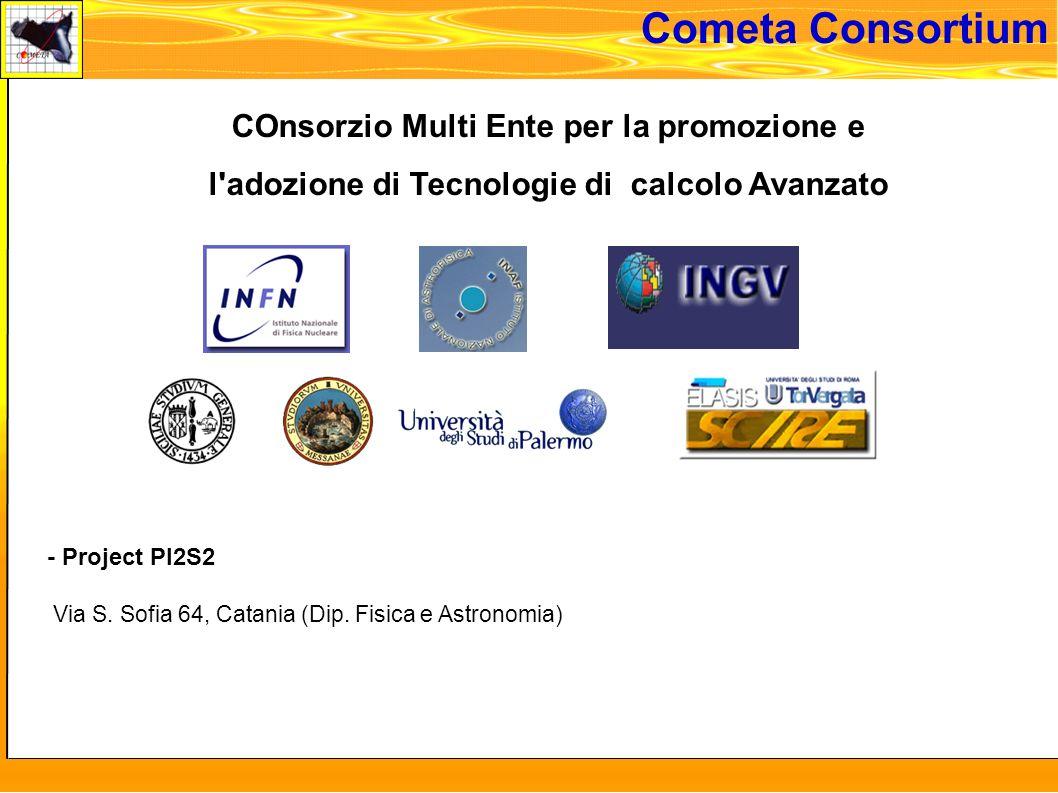 martedi 8 novembre 2005 - Project PI2S2 Via S. Sofia 64, Catania (Dip.